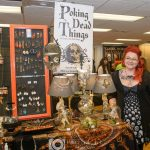 """Morgana Grimm of """"Poking Dead Things"""" at Blood Bash 2017"""